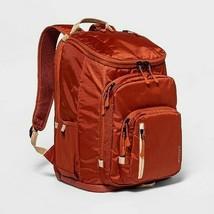"""Brand New Embark Jartop 17"""" Backpack in Rust/Tan"""