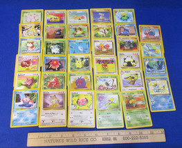 Pokemon Card Snorlax 27/64 Aquali 28/64 Kingdra 19/64 Pidgeot 24/64 Lot ... - $16.82