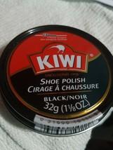 NEW KIWI 10111 1 1/8 OZ CAN KIWI BLACK SHOE POLISH PASTE 3432366 bx42 - $6.52