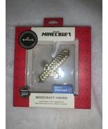 Hallmark Mojang Minecraft Sword Gold Premium Christmas Tree Holiday Orna... - $22.00