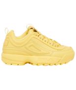 NIB*Fila Disruptor II Premium Sneaker*Goldfinch yellow*Size 6-10 - $125.00
