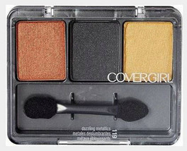 Covergirl Eye Shadow Trio Dazzling Metallics, smoky neutral full size 11... - $6.99