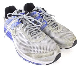 Nike Fitsole 2 Men's size 12 Blue Silver Running Shoes - £17.09 GBP