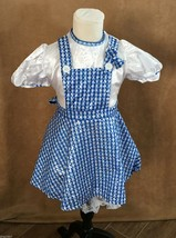 S Girls Dorothy Wizard of Oz Costume Rubie's Deluxe small dress childs s... - €19,90 EUR
