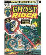 Ghost Rider Comic Book #5, Marvel Comics 1974 NEAR MINT - $80.22