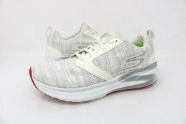 Skechers Womens Sz 5 Go Run Ride 7 Running Shoes White 15200 Low Top Fabric New - $49.99