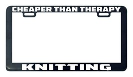 Cheaper than therapy knitting license plate frame holder - $5.99