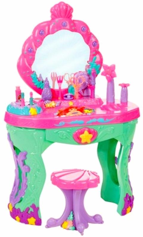 Disney Little Mermaid Ariel Ocean Vanity Styling Salon