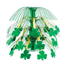 "Beistle Shamrock Cascade Centerpiece 18""- Pack of 6 - $31.60"