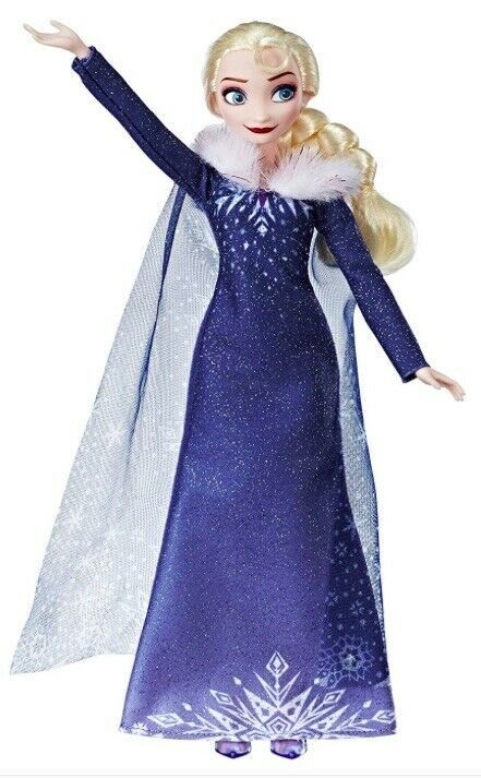 Primary image for Disney Frozen Olaf's Frozen Adventure ELSA Doll - Beautiful Cape & Gown NEW