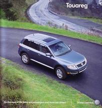 2007 Volkswagen TOUAREG sales brochure catalog 07 VW V6 V8 V10 TDI - $9.00