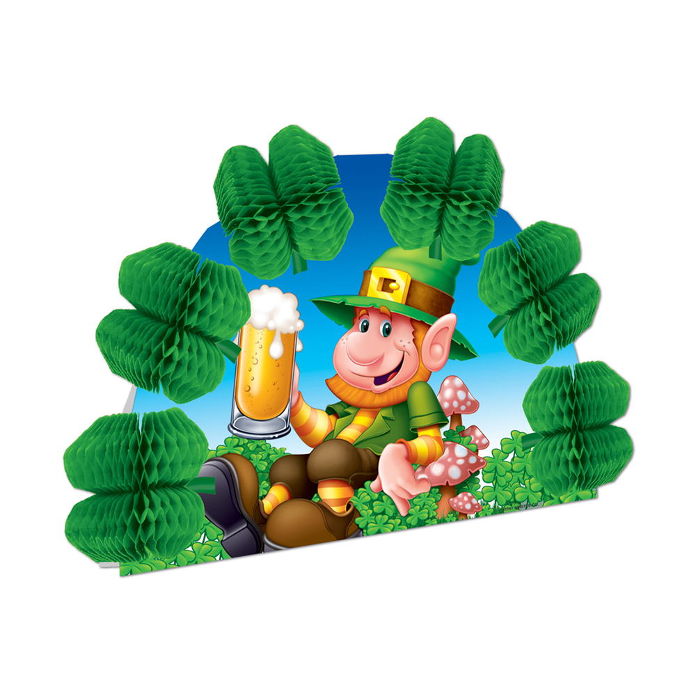 "Beistle Leprechaun Pop-Over Centerpiece 10""- Pack of 12"