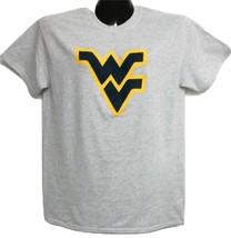 West Virginia Mountaineer's Flying WV Light Grey Tee-shirt XL - $12.34