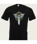Warhammer 40K T-Shirt Dark Angels Logo, Geek T-shirt,  100% cotton, All ... - $25.00