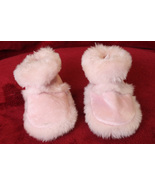 Goldbug Baby Girl Pink Booties - Size Large - $7.99