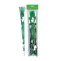 "Beistle Pkgd St Patrick Tasseled Trumpets 25""(3 Ct)- Pack of 12 - £34.54 GBP"