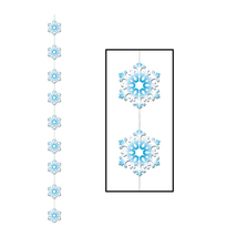 "Beistle Snowflake Stringer 6' 6""- Pack of 12 - $27.00"