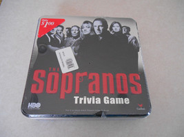 The Sopranos Trivia game Collectable tin  facto... - $5.78
