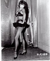 Bettie Page Pop Icon 129 Vintage 8X10 BW Memorabilia Photo - $6.99