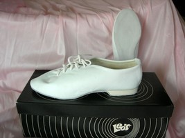 Size 3.5 *NEW* Adult Tremaine Jazz dance shoe *White* SRP $34 - $21.99