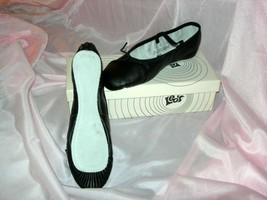 Adult Leo's Ballet Slippers Size 4.5 C **NEW** Black SRP $20.00 - $11.99
