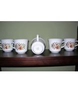 Vintage Corelle Indian Summer - Mugs / Cups - Set of 5 USA - $10.99