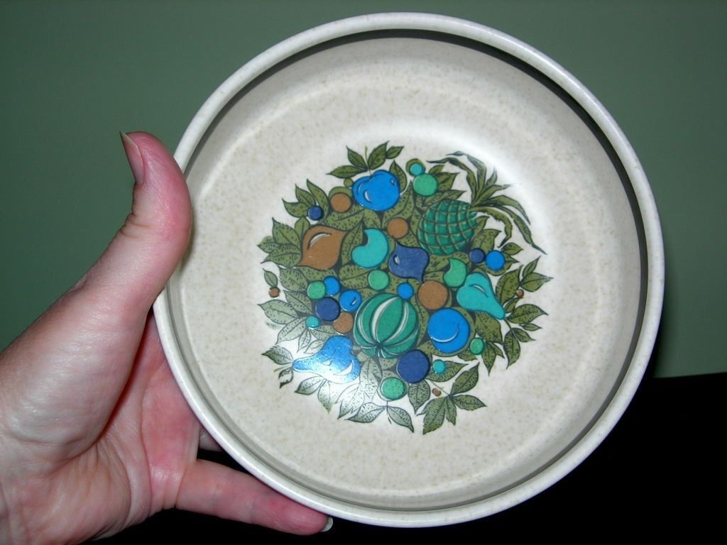 """Vintage Lenox Temperware 6"""" Coupe Cereal Bowl ~ Fall Bounty Pattern ~ HTF - $5.99"""