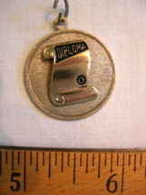 Sterling Silver Diploma Charm - Beau - $24.99