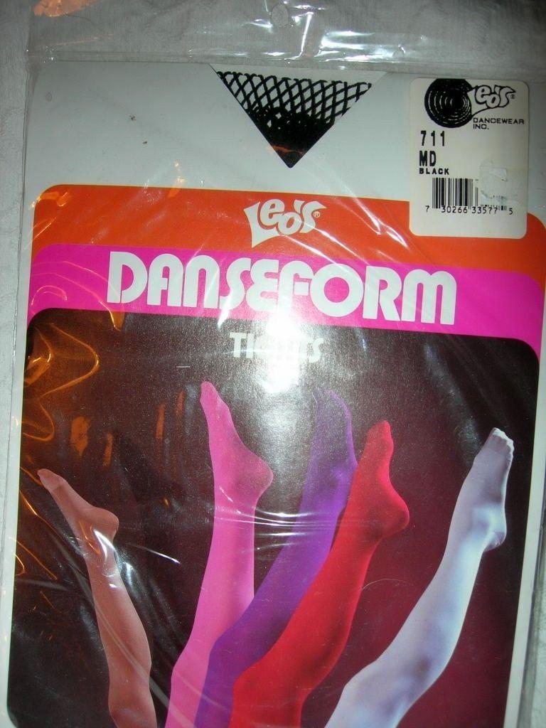Kids Footless Dance Tights Revolution Dancewear Footless Color Flow Tan Sz Large