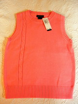 Grace Dane Lewis Sweater Vest - Small Adult - Pink Parfait - $14.99