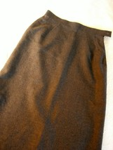 SZ 6 *New* Classic Wool Skirt ~ Charcoal Grey ~ Fully lined w/pockets - $59.99