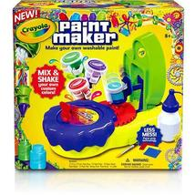 Crayola Paint Maker Artist Create Color Decorate Mix Kit Toy Christmas Gift - $23.57