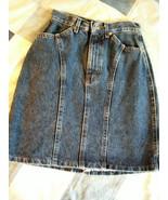 """Waist 26 ~ Lee """"Blue Moves"""" denim skirt ~ laundered once - $7.99"""