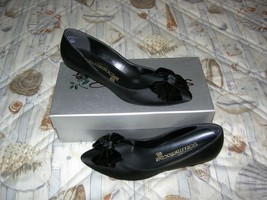 Size 8 M ~ New Peau Black Shoes ~ Special Occasion ~ First Quality - $19.99