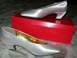 Size 6 B NEW Satin Dyeable Shoes Wedding/Prom/Special Occasion ~ First Q... - $19.99