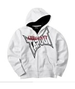 BOYS 14/16 - Tapout Tap Out - White Hoodie Zippered JACKET /  HOODIE - $36.90