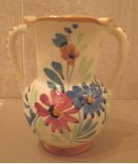 Vintage 1930's Italian Stoneware Vase Art Pottery - $12.99