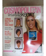 COSMOPOLITAN VIRTUAL MAKEOVER - PC/MAC - NIB - $6.99