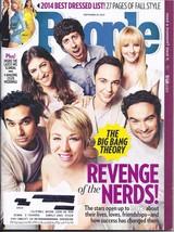 THE BIG BANG THEORY @ People Magazine Sept  29, 2014 - $2.95