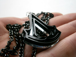 Assassins Creed Necklace , Laser Cut Black and ... - $17.95