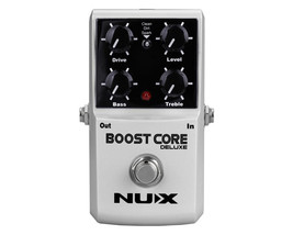 Nux Boost Core Deluxe Looper Dual Booster Guitar Effects Pedal Stompbox - $74.00