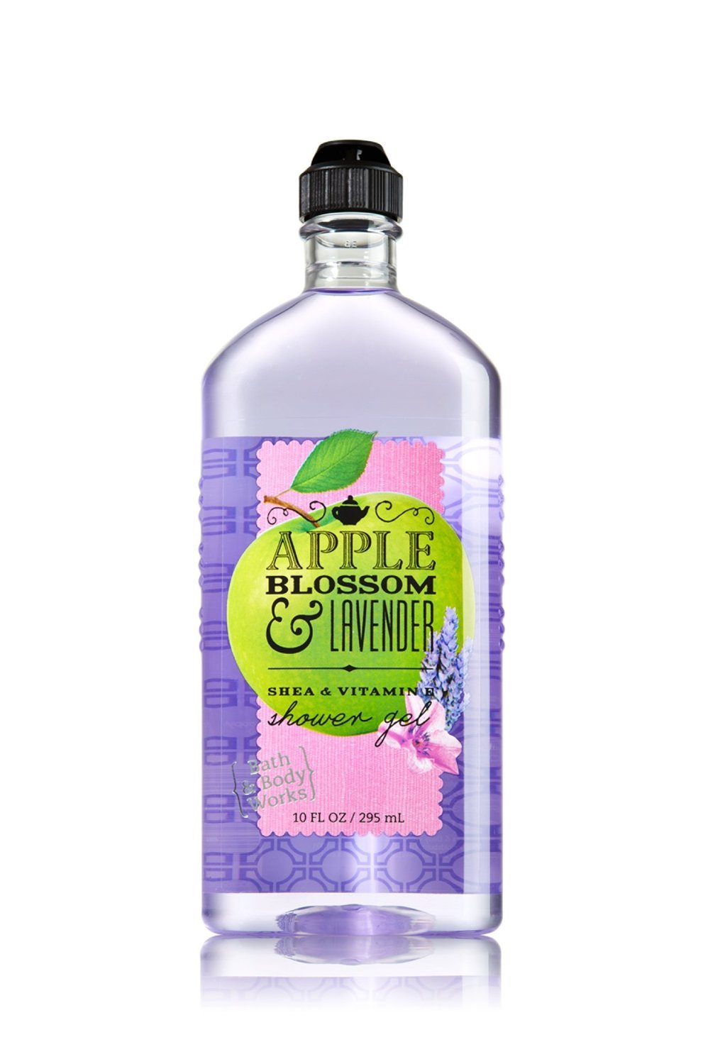 Bath body works apple blossom lavender shower gel 10 for Bathroom body works
