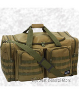"""Water-Resistant 25"""" Olive Drab Tactical Tote Duffle Bag Bug Out Hunting ... - $42.99"""