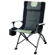 Ozark Trail High Back Chair with Head Rest, Black - $47.51
