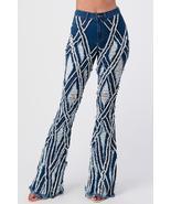 Gotta Have Them Diamond Distressed Ripped Jeans Dark Denim - $70.00
