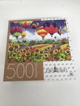 Nancy Wernersbach Flying Colors 500 Piece Jigsaw Puzzle 20x27 Big Ben Mb New - $21.73
