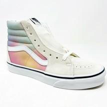 Vans Sk8 Hi (Aura Shift) MultiColor True White Womens Classic Sneakers - £49.44 GBP