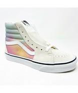 Vans Sk8 Hi (Aura Shift) MultiColor True White Womens Classic Sneakers - £49.67 GBP