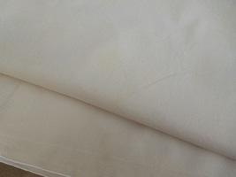 """40"""" Square Vintage Cotton Tablecloth - Light Ecru  #5138 image 4"""