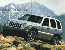 2006 Jeep LIBERTY SPORT SPECIAL Edition sales brochure folder US 06 - $6.00